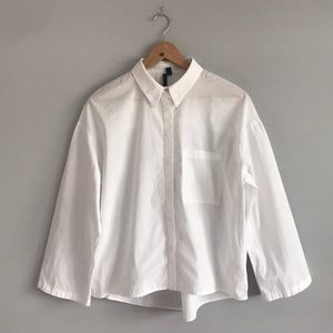 4 💝 for $25! Topshop Boutique Boxy Button Down